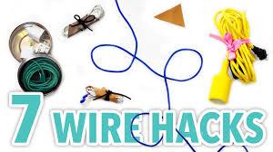 diy hacks youtube 7 diy wire organization hacks hgtv handmade youtube