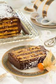 cuisine et fetes cuisine et mets gâteau à l orange glacé au chocolat