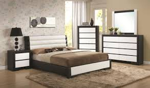 Coaster Furniture Bedroom Sets by 203331 Kimball Bedroom In Black U0026 White By Coaster W Options