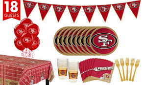 49ers Halloween Costume Nfl San Francisco 49ers Party Supplies Party