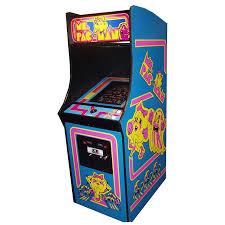 Ms Pacman Cabinet Mile High Arcade U2013 Providing Arcade Entertainment Throughout Colorado
