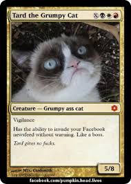 Tard The Grumpy Cat Meme - tard grumpy cat invades facebook like a boss unsorted funny