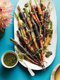 thanksgiving carrot side dish recipe charred carrots with herbs recipe carrots carrot top and