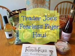 trader joe s fearless flyer haul thanksgiving