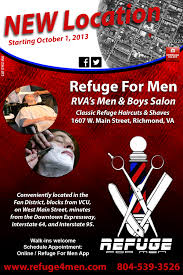 refuge for men salon relocates to new home on west main street