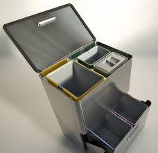 poubelle de bureau tri selectif differenziata 5 poubelle pour tri sélectif 80 l avec 5 bacs