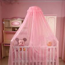 baby kids toddler bed canopy netting infant hanging mosquito net