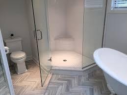 floor tile 3x12 flow sky herringbone pattern shower wall tile