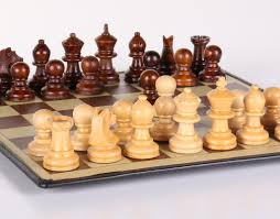 Wooden Chess Set by 9