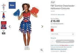 Zombie Cheerleader Costume Halloween Costume Ideas 2017 Nine Top Picks From Supermarkets In