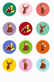 183 best curious george printables images on pinterest curious