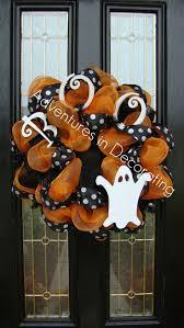 Halloween Geo Mesh Wreath 243 Best Halloween Fun Spooky Images On Pinterest