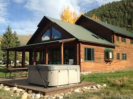 colorado cabins crested butte lodging almont three rivers resort