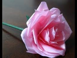 Making Flowers Out Of Tissue Paper For Kids - best 25 tissue paper roses ideas on pinterest crepe paper rolls