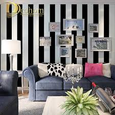 Black And White Striped Wallpaper by Black Stripe Wallpaper Reviews Online Shopping Black Stripe