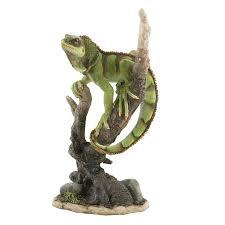 green lizard ornament reptile figurines green lizard ornaments