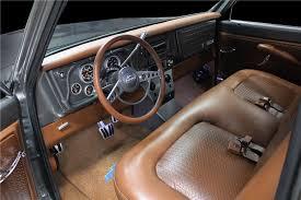 Chevrolet C10 Interior 1972 Chevrolet C10 Custom Pickup 207916