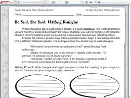 brilliant ideas of dialogue worksheets for 6th grade in letter
