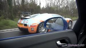 first bugatti veyron ever made bugatti veyron chase r8 v10 spyder left behind youtube