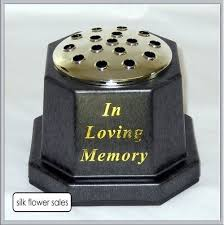Memorial Vases For Graves Uk In Loving Memory Memorial Pot Grave Black Vase Amazon Co Uk