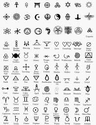symbolism and their meanings