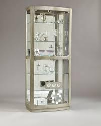 Oak Curio Cabinets Curio Cabinet Sensational Pulaski Oak Curio Cabinet Pictures