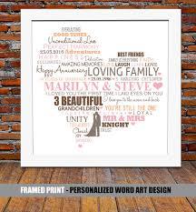 30th wedding anniversary gift ideas pearl wedding anniversary 30th pearl wedding by blingprints 30th