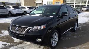 lexus crossover 2007 pre owned black 2010 lexus rx 450h awd hybrid touring package