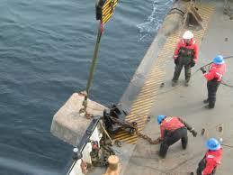 to enlarge lowering concrete buoy sinkers