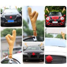 Christmas Reindeer Car Decorations by Car Antlers Ebay