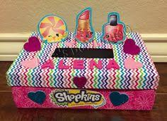 Valentine Shoe Box Decorating Ideas Shopkins Valentine U0027s Box Shopkins Pinterest Shopkins Box