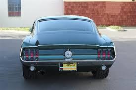mustang 68 fastback 1968 used ford mustang bullitt fastback at cammisa automotive inc