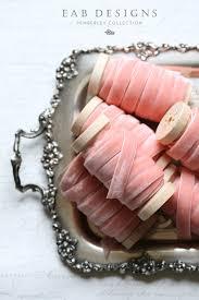 pink velvet ribbon blush velvet ribbon pink velvet ribbon 3 8 velvet