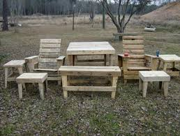 Outdoor Furniture Made From Wood Pallets Diy Pallet Outdoor Furniture Pieces Pallets Designs