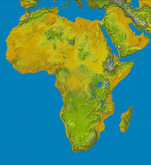 Horn Of Africa Map by Topography Of Africa U2022 Mapsof Net