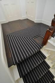Black And White Striped Outdoor Rug by Choosing Stair Runner Awesome Half Landing Stair Design With