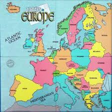 map of all the countries in europe 10 days in europe a review 10 days in europe boardgamegeek