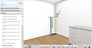 hauteur colonne cuisine hauteur meubles cuisine free on partirait sur la mme couleur de