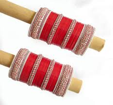 wedding chura pin by punjabi chura on wedding chura bangle