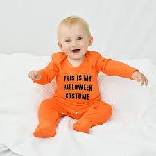 halloween costume u0027 halloween baby romper sleepsuit by ellie ellie