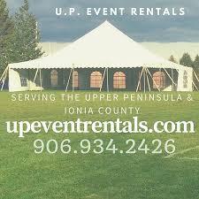 event rentals peninsula wedding event rentals laurium u p event rentals