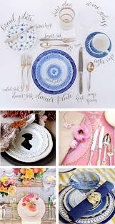Proper Table Setting by Summer Table Settings Lettered Olive