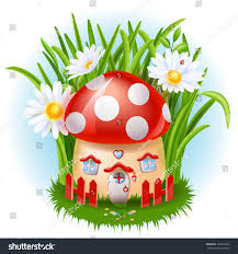 cartoon fairy tale house stock vector 129612863 shutterstock