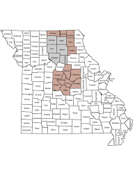 Blank Map Of The Northeast Region by Mdc News From 11 2015 Missouri Department Of Conservation