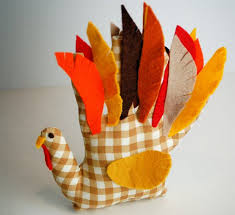handprint turkey softie thanksgiving crafts for popsugar