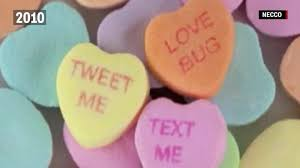 sweet hearts candy sweethearts candy messages through the decades from send a