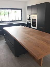 plan table de cuisine table de cuisine avec plan de travail kirafes