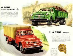 Vintage Ford Truck Brochures - 1956 fargo truck brochure