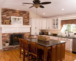 kitchen fireplace ideas best 25 kitchens with fireplaces ideas on