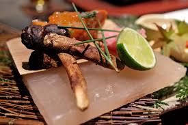 equinox cuisine matsutake autumn dining in tiptoeingworld